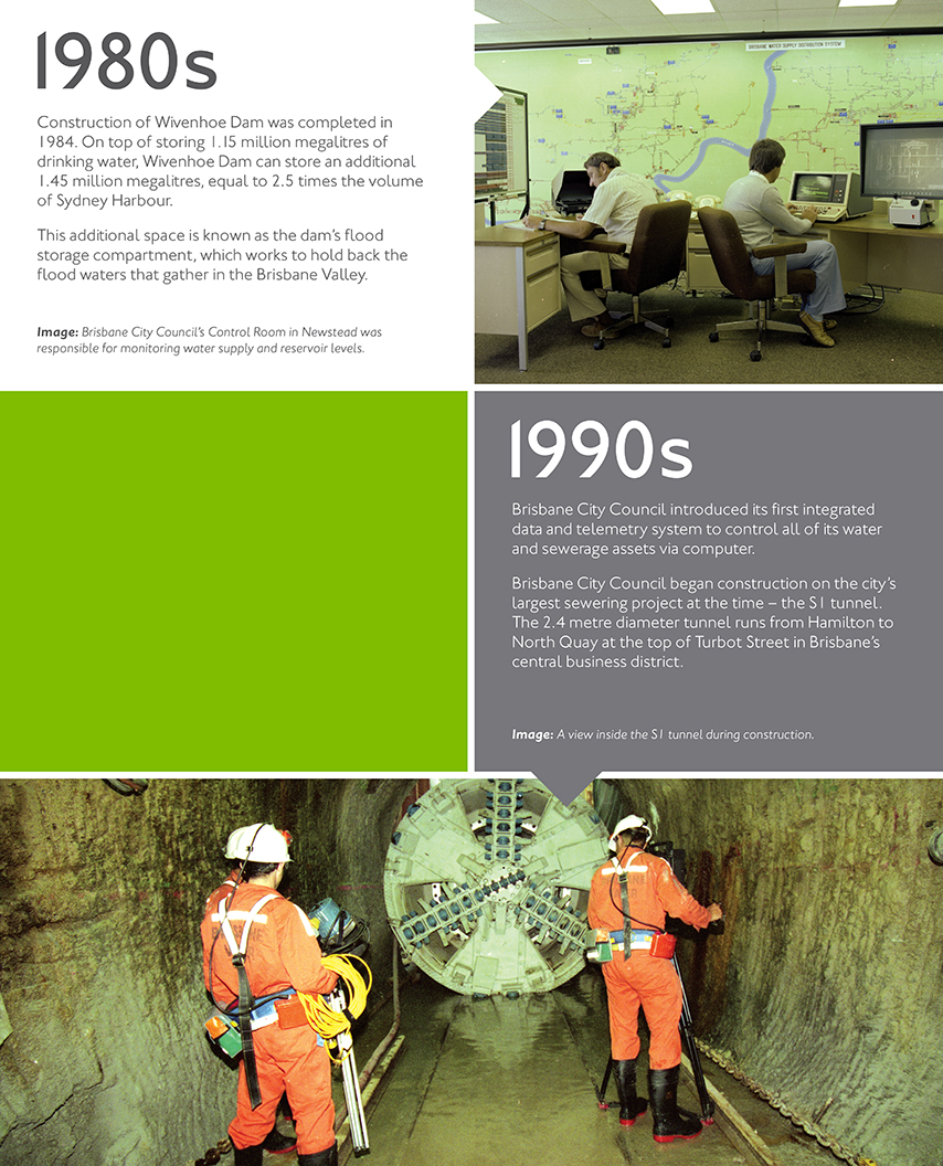 Our history - Queensland Urban Utilities