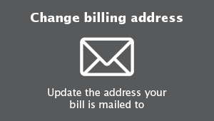 Change billing address