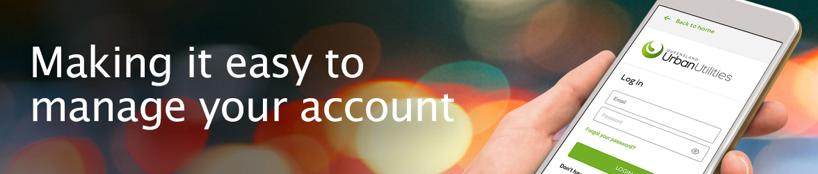 Making it easy to manage your account