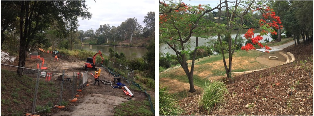 Jindalee worksite before and after
