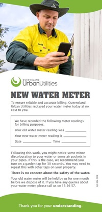 New water meter flyer page 1