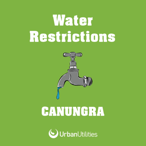 Canungra water restrictions