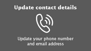 Update contact details